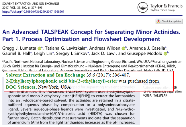 An-advanced-TALSPEAK-concept-for-separating-minor-actinides-Part-1-Process-optimization-and-flowsheet-development