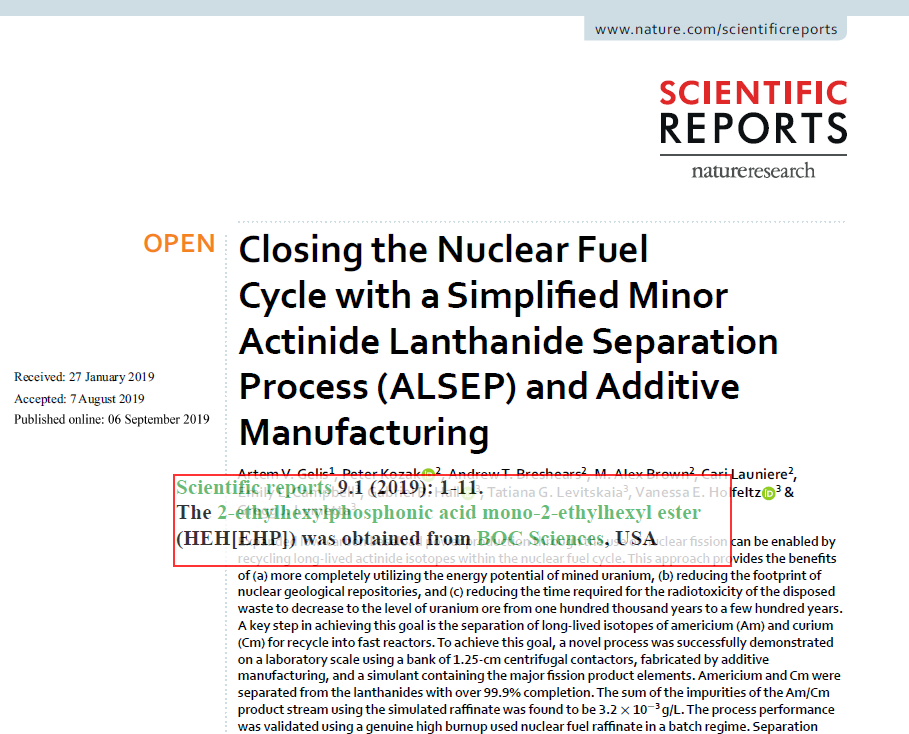 Closing the Nuclear Fuel Cycle with a Simplified Minor Actinide Lanthanide Separation Process (ALSEP) and Additive Manufacturing