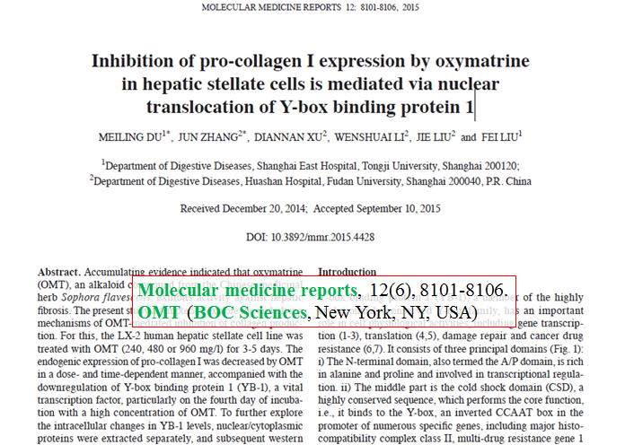 Inhibition-of-expression-by-oxymatrine-in-hepatic-stellate-cells