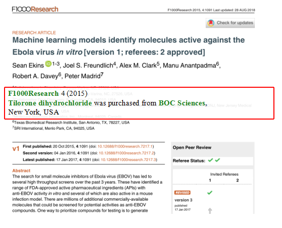 Machine-learning-models-identify-molecules-active-against-the-Ebola-virus-in-vitro