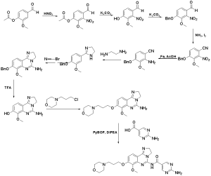 The synthesis route of copanlisib