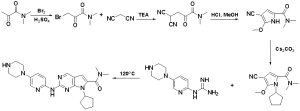 The synthesis route of ribociclib